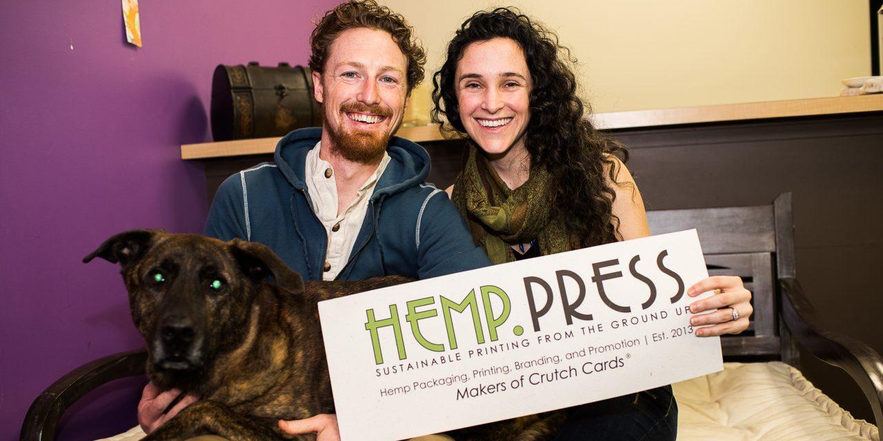 Hemp Press: Saving the World One Sheet at a Time